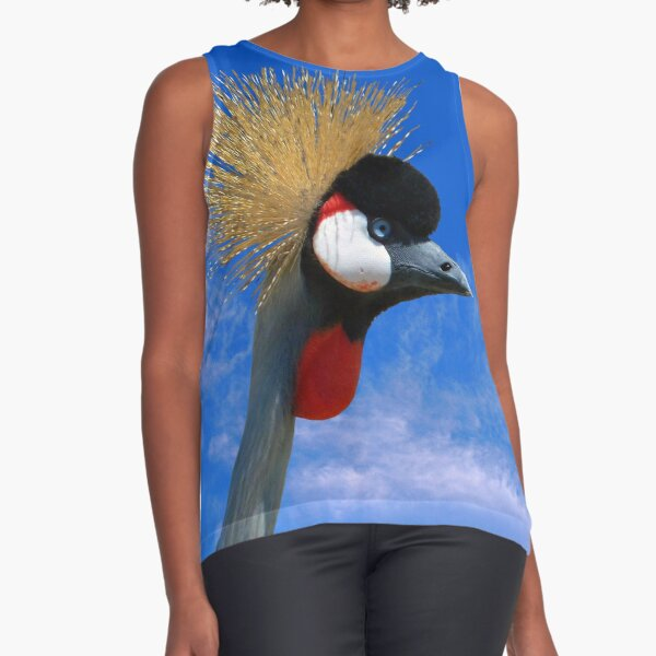 East African Crowned Crane Sleeveless Top