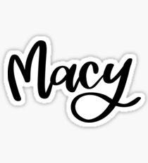 Macy Sticker