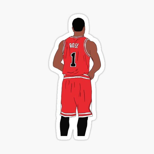 Derrick Rose Back-To Sticker
