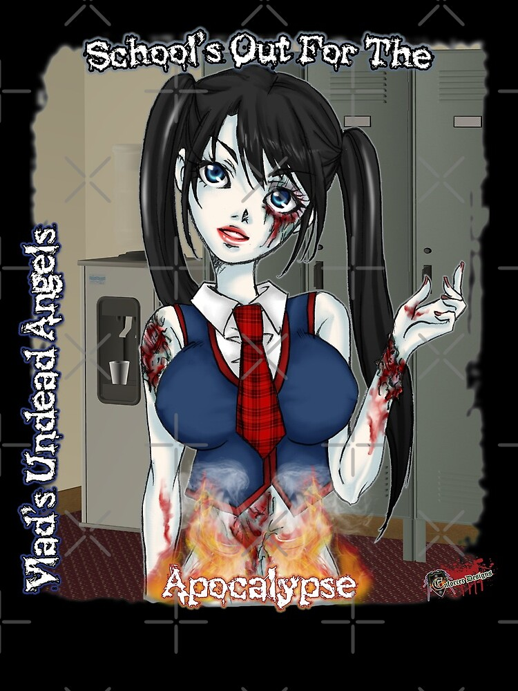 Undead Angels: Zombie Schoolgirl by EnforcerDesigns