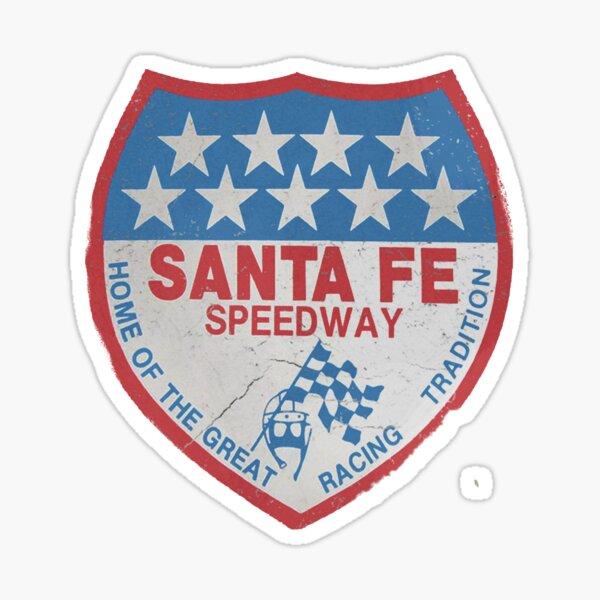 Santa Fe Speedway logo Sticker