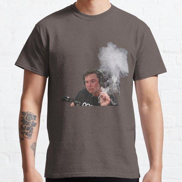 Elon Musk fuma Camiseta clásica