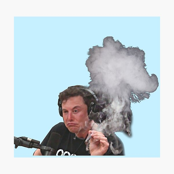 Elon Musk Fume Impression photo