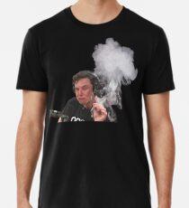 Elon Musk Smokes Men's Premium T-Shirt