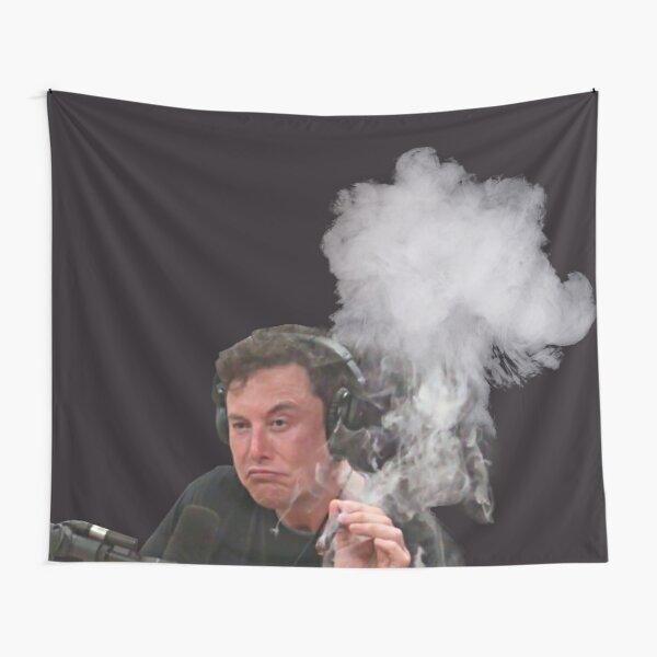 Elon Musk Smokes Tapestry