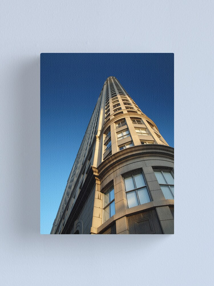 Alternate view of Pointing to the sky Canvas Print