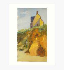 Quimiac Workshop on the Atlantic Coast Art Print