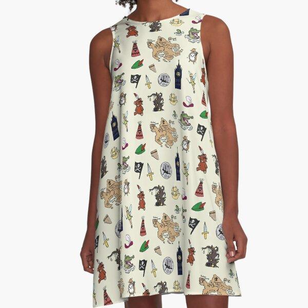 Peter Pan A-Line Dress
