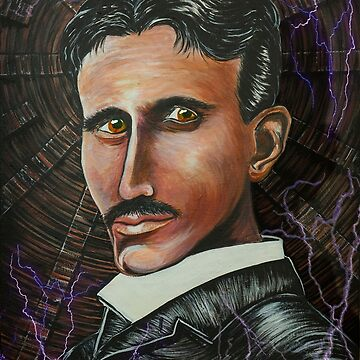 Nikola Tesla Portrait by oz10
