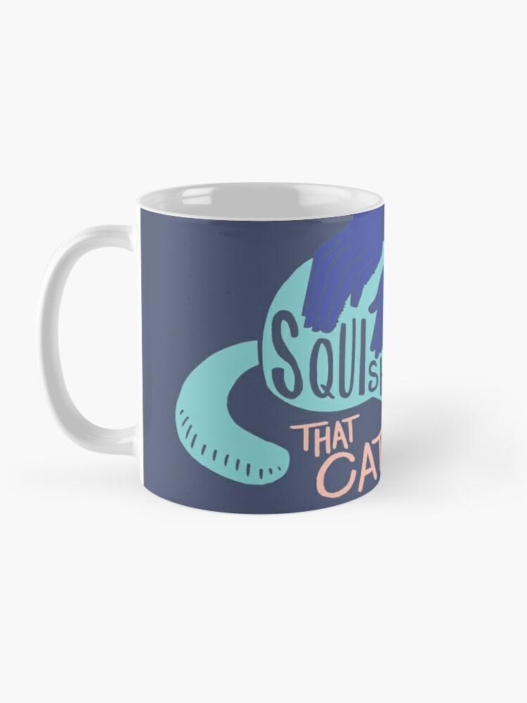 Alternate view of Squish that Cat! Mug