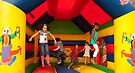 Fun in the jumping castle...  by steppeland