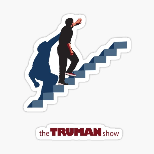 The Truman Show Sticker