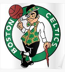 T-shirt Boston Poster