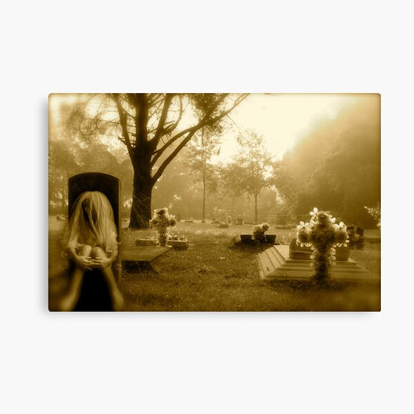 Love is Stronger Than Death Canvas Print