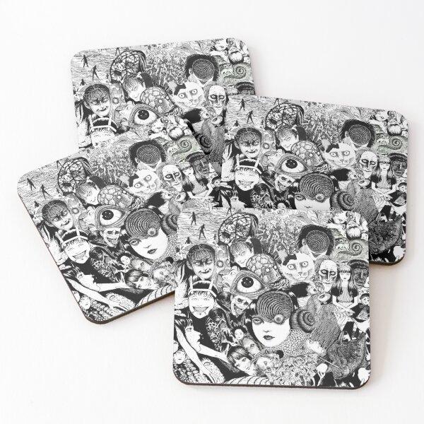 junji ito collage Coasters (Set of 4)