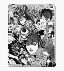 Junji Ito-Collage iPad-Hülle & Klebefolie