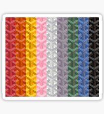 Goyard Colour Collage Sticker