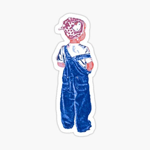 Little girl Sticker