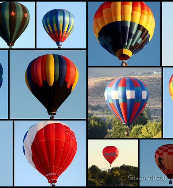 Up, Up & Away In My Beautiful Balloon! by Susan Vinson