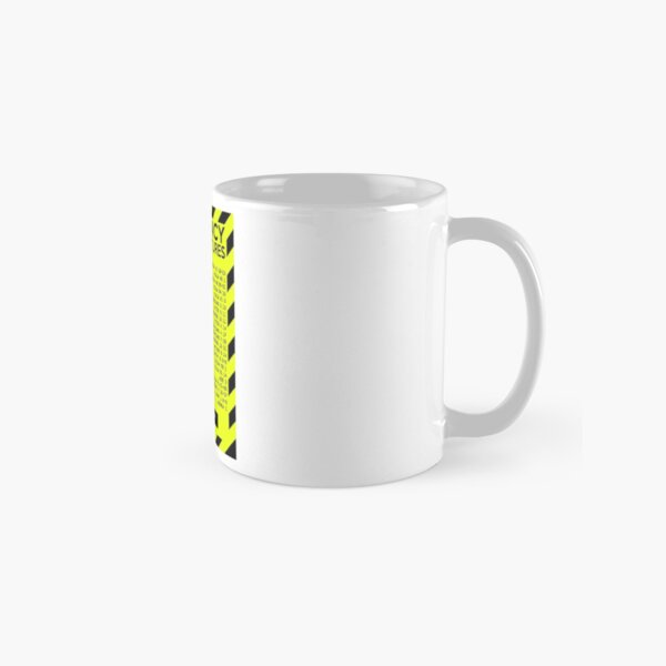 Emergency Bible Scriptures Numbers (New and Improved) Classic Mug