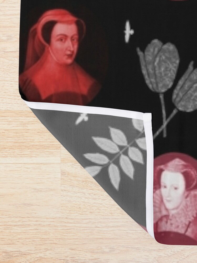Alternate view of Mary Queen of Scots Shower Curtain