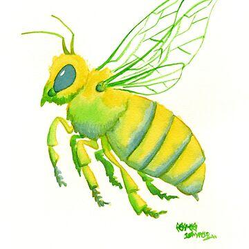 Honeybee by jojoseames