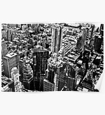 New York from above Poster