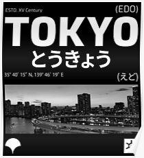 Póster Diseño de tokio