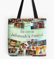 Become Jehovah's Friend - Caleb and Sophia Snapshots Tote Bag