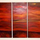 Red Mountain by Lorraine cavanagh