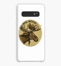 Bull Moose Party - Vintage Political Party Pinback Design Case/Skin for Samsung Galaxy