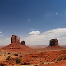 Monument Valley ~  by Barbara Burkhardt