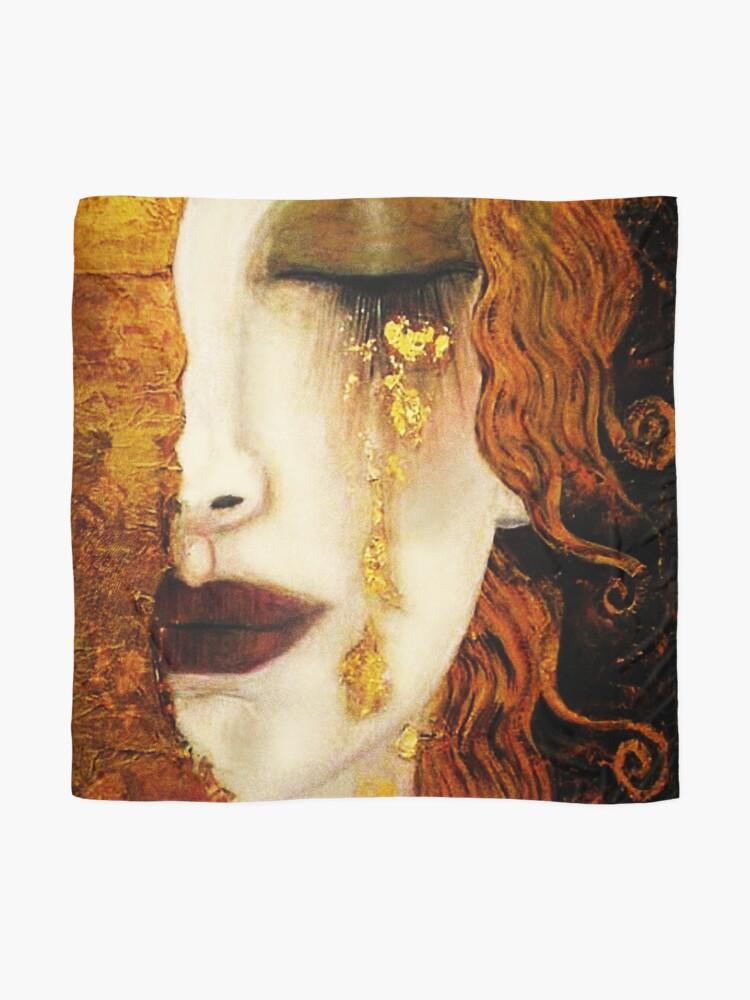 Alternate view of Klimt Golden Tears Scarf