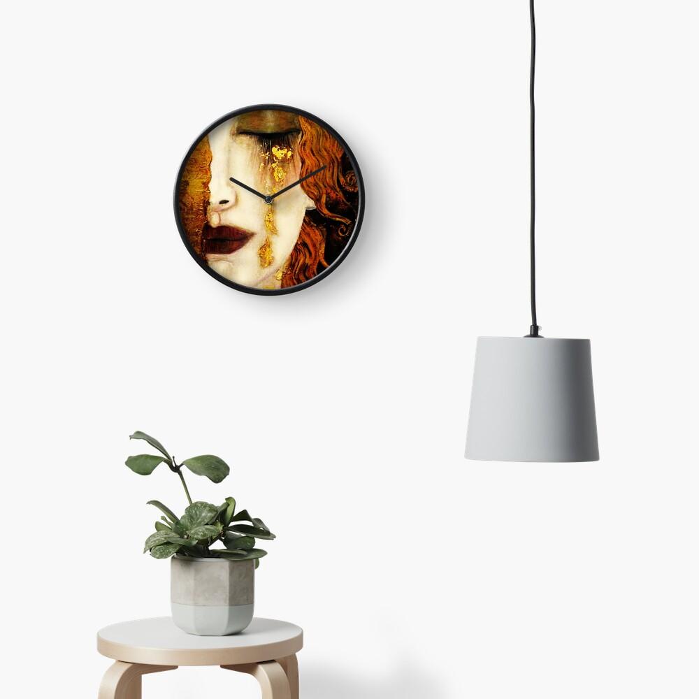 Klimt Golden Tears Clock