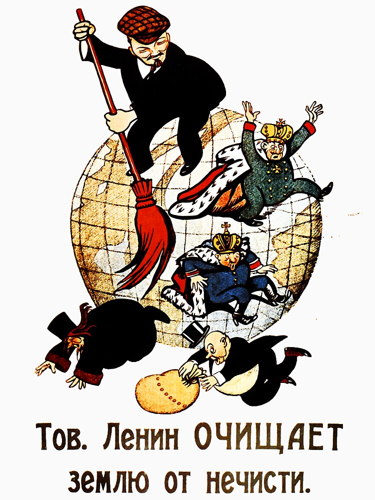 Comrade Lenin Cleans the World of Evil by entroparian