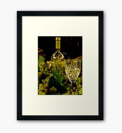 Grape Harvest 2 Framed Print