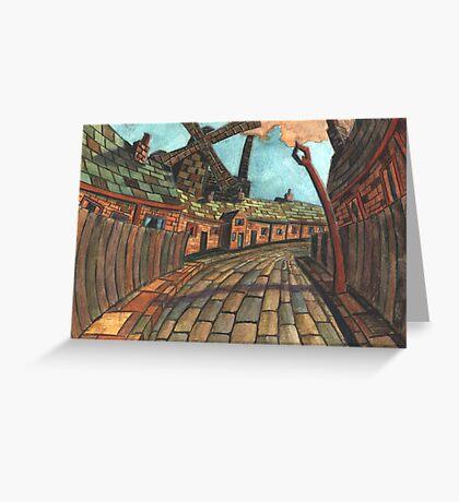 165 - HODGSON'S MILL, BLYTH (2nd Version) - (WATERCOLOUR)  Greeting Card