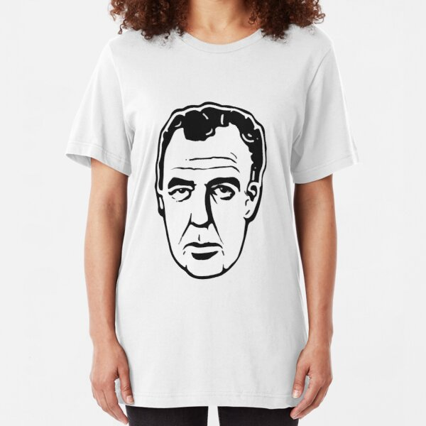Jeremy Clarkson cartoon design  Slim Fit T-Shirt