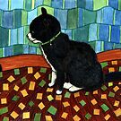 176 - JASON THE CAT (WATERCOLOUR) by BLYTHART