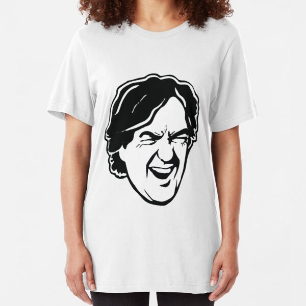 James May Cartoon design Slim Fit T-Shirt