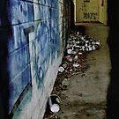 Hiding in Coffee Alley by Jen Waltmon