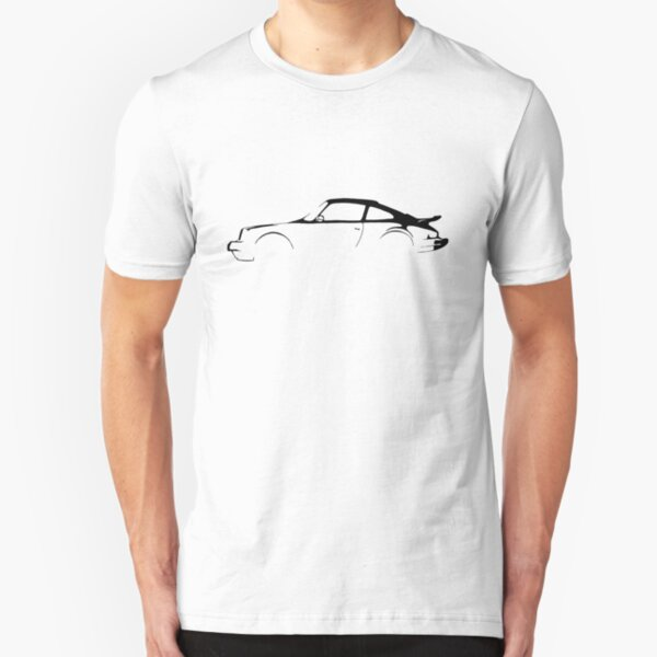 Porsche 911 Silhouette  Slim Fit T-Shirt