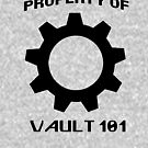Property of Vault 101 by KalamityRaine
