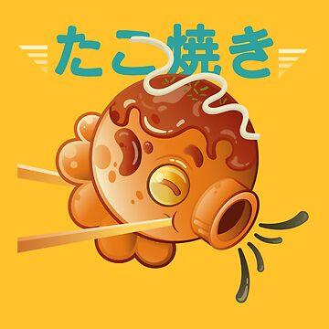 Takoyaki by 0Coconut
