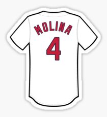 official photos a4603 13346 Yadier Molina Stickers   Redbubble