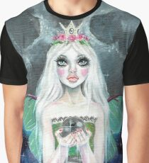 Luna Moth - fairy with Luna Moth wings Graphic T-Shirt