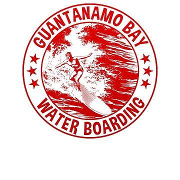 Retro Guantanamo Bay Waterboarding by n--o--n