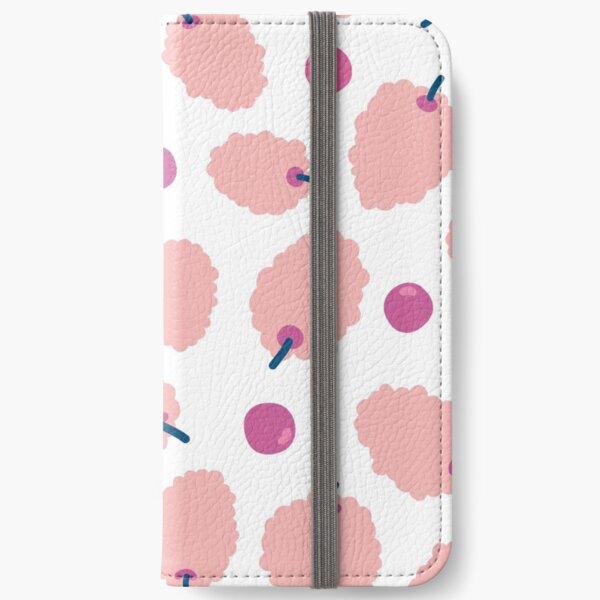 Grapes and blackberries iPhone Wallet