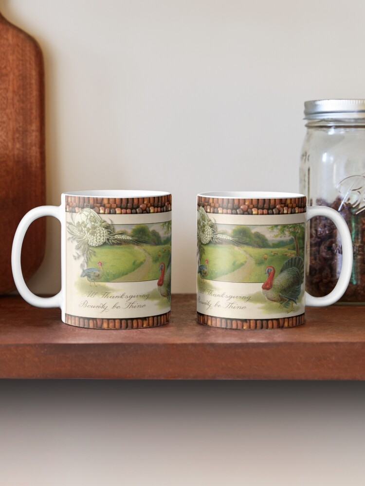 Alternate view of Traditional Thanksgiving Turkey in Meadow Mug