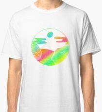 Colorful Art Falls Design Gift Idea  Classic T-Shirt